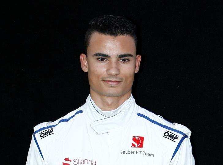 Formula One - F1 - Australian Grand Prix - Melbourne, Australia - 23/03/2017 Sauber driver Pascal Wehrlein of Germany poses during the driver portrait session at the first race of the year.     REUTERS/Brandon Malone