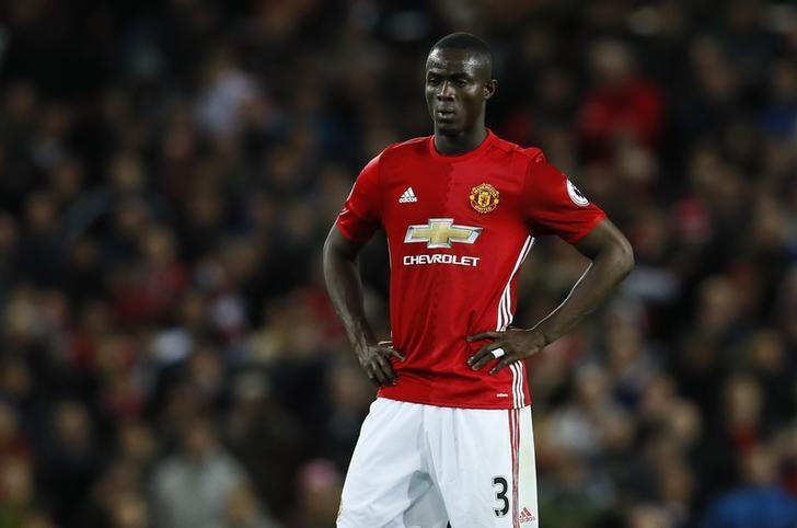 Britain Football Soccer - Manchester United v Everton - Premier League - Old Trafford - 4/4/17 Manchester United's Eric Bailly  Action Images via Reuters / Jason Cairnduff Livepic