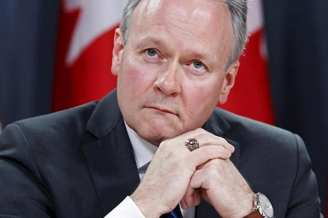 4月12日、カナダ銀行(中央銀行)は、政策金利を予想通り0.50%に据え置いた。写真はポロズ総裁。2016年4月撮影(2017年 ロイター/Chris Wattie)
