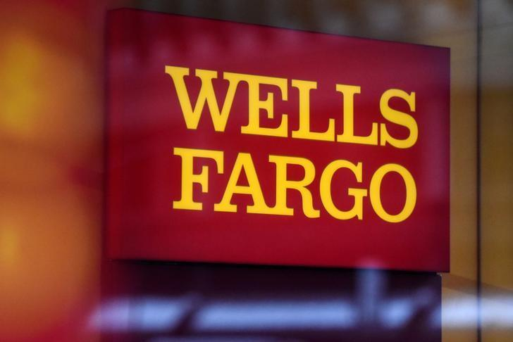 A Wells Fargo logo is seen in New York City, U.S. January 10, 2017. REUTERS/Stephanie Keith/File Photo