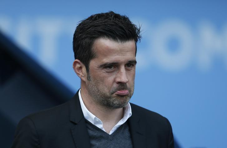 Britain Football Soccer - Manchester City v Hull City - Premier League - Etihad Stadium - 8/4/17 Hull City manager Marco Silva Action Images via Reuters / Ed Sykes Livepic