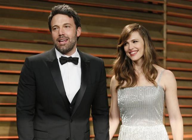4月14日、米俳優ベン・アフレック(44)と米女優ジェニファー・ガーナー(44)が正式に離婚を申請したことが明らかになった。2人はすでに2015年に破局を公表していた。写真は2014年3月撮影(2017年 ロイター/Danny Moloshok)