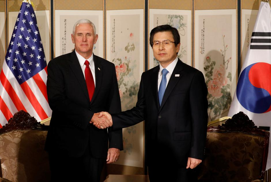 Pence Says South Korea Us Free Trade Agreement To Be Reviewed