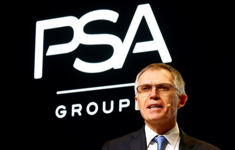 Carlos Tavares, Chairman of the Managing Board of French carmaker PSA Group addresses the media during the 87th International Motor Show at Palexpo in Geneva, Switzerland March 7, 2017. REUTERS/Arnd Wiegmann