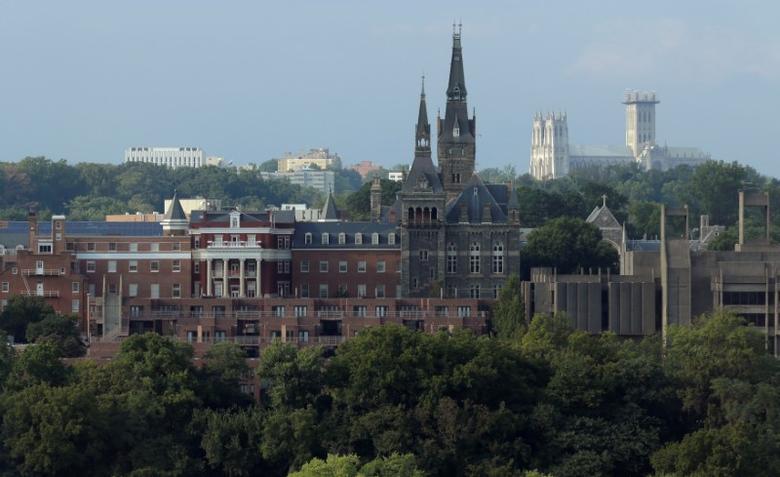 Georgetown University stands in Washington, U.S., September 1, 2016.  REUTERS/Joshua Roberts
