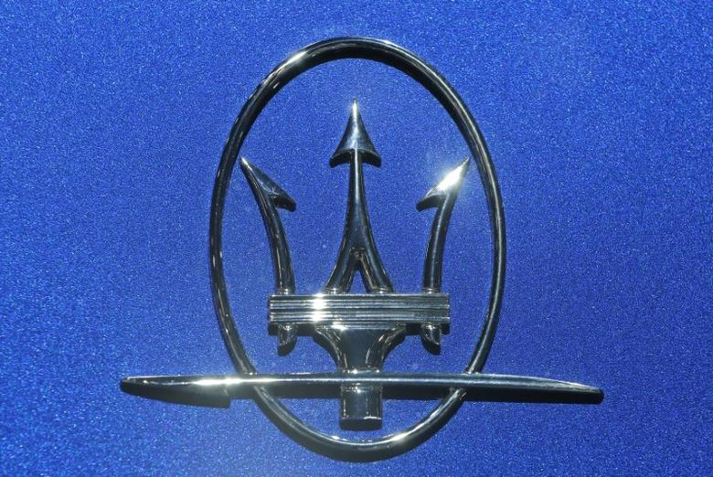 An Maserati logo is seen at the 2017 New York International Auto Show in New York City, U.S. April 13, 2017. REUTERS/Lucas Jackson