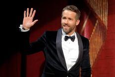 """Ator Ryan Reynolds, que está no filme """"Vida"""" 3/2/2017       REUTERS/Brian Snyder"""