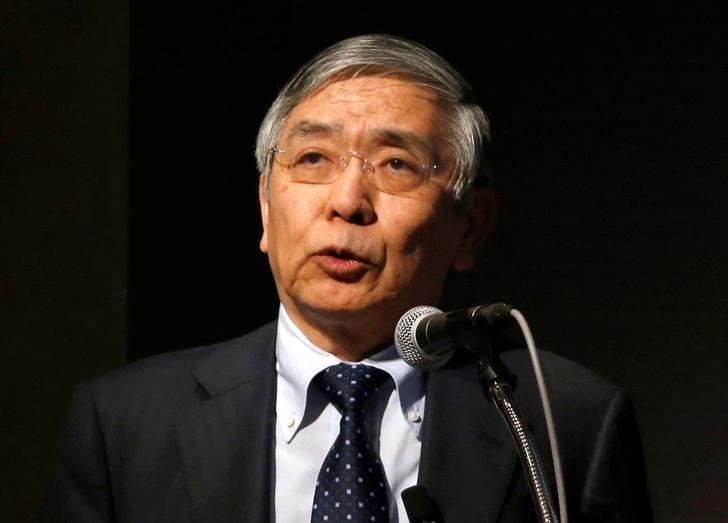 Bank of Japan (BOJ) Governor Haruhiko Kuroda  in Tokyo, Japan March 24, 2017. REUTERS/Toru Hanai