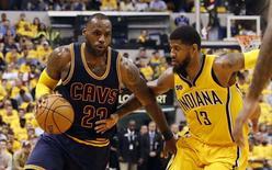 Cleveland fait un come-back/Photo prise le 21 avril 2017/REUTERS/USA Today Sports
