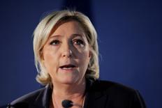 La leader dell'estrema destra francese Marine Le Pen. REUTERS/Benoit Tessier