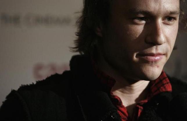 4月24日、2008年に28歳で死去したオーストラリア出身の俳優ヒース・レジャーのドキュメンタリー映画「I Am Heath Ledger(原題)」が、現在ニューヨークで開催中のトライベッカ映画祭で23日に上映された。写真は2006年11月撮影(2017年 ロイター/Eric Thayer)