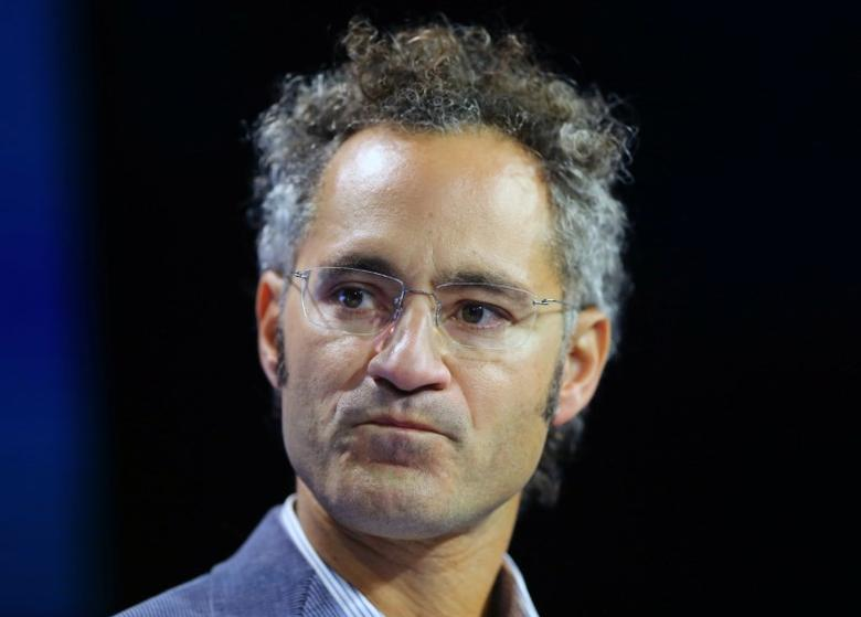 Alex Karp co-founder and CEO of Palantir Technologies speaks at the WSJD Live conference in Laguna Beach, California, U.S., October 26, 2016.     REUTERS/Mike Blake