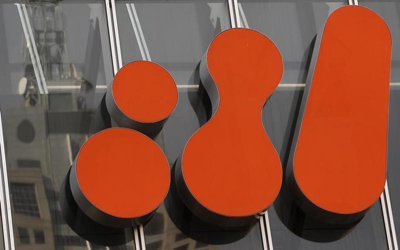 资料图片:2010年9月,墨尔本,必和必拓总部的企业标识。REUTERS/Mick Tsikas