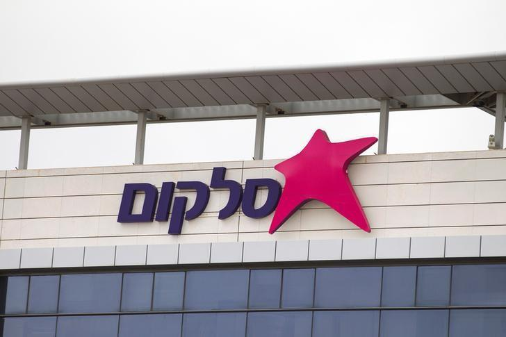 The logo of Israel's biggest mobile phone operator Cellcom is seen on the Cellcom building in Netanya, north of Tel Aviv, Israel January 28, 2014. REUTERS/Baz Ratner/File Photo