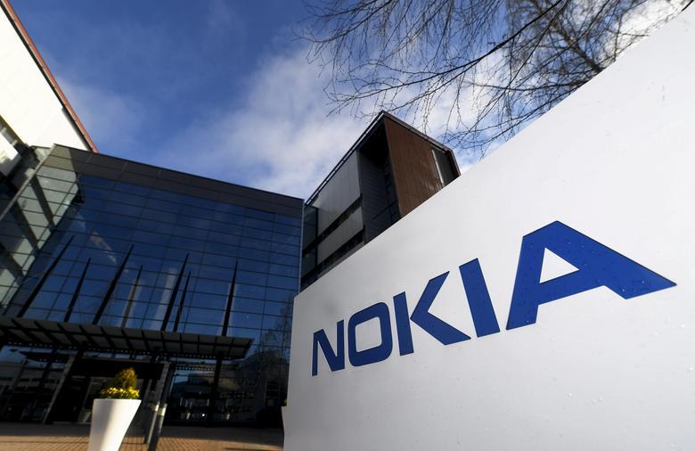 The headquarters of Finnish telecommunication network company Nokia is pictured in Espoo, Finland April 27, 2017.  Lehtikuva/Vesa Moilanen/via REUTERS