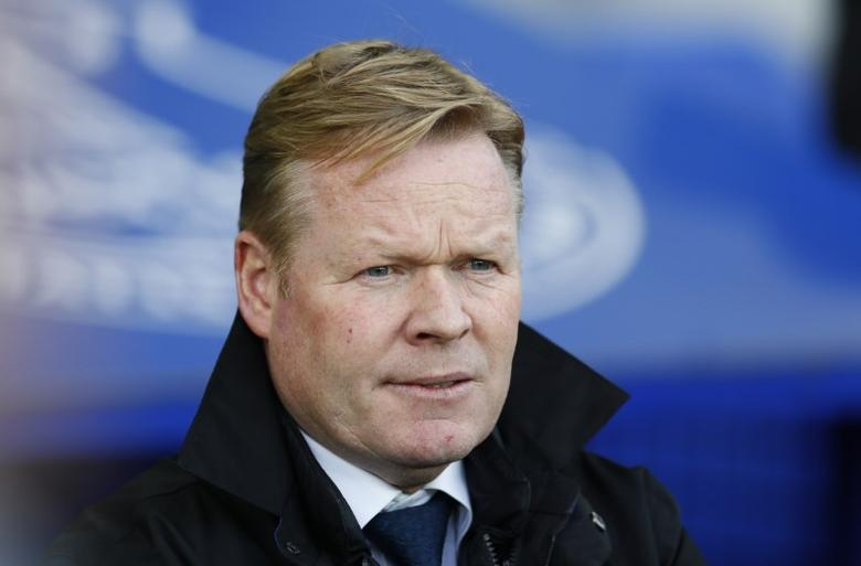 Britain Football Soccer - Everton v AFC Bournemouth - Premier League - Goodison Park - 4/2/17 Everton manager Ronald Koeman  Reuters / Andrew Yates Livepic