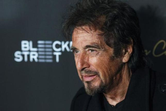 Actor Al Pacino attends the 'Danny Collins' premiere at AMC Lincoln Square Theater in New York, March 18, 2015. REUTERS/Eduardo Munoz/Files