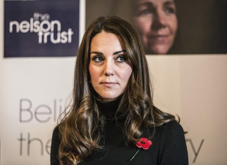 Catherine, Duchess of Cambridge visits the Nelson trust women's centre in Gloucester, Britain November 4, 2016. REUTERS/Richard Pohle/Pool