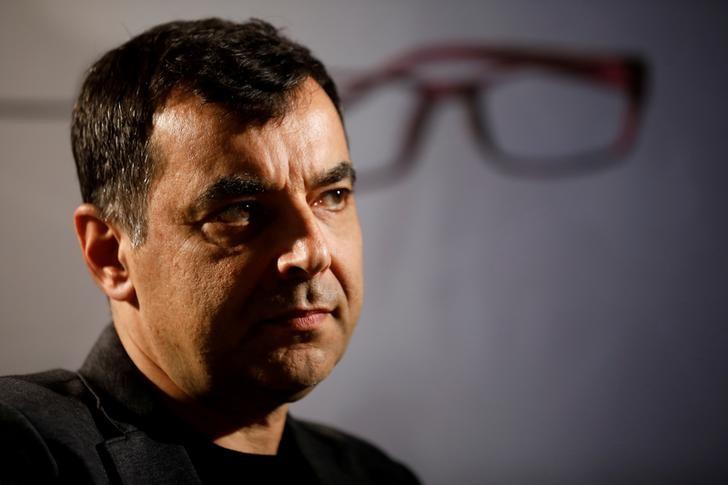 Amnon Shashua, co-founder of Israeli start-up Mobileye, is seen during an interview with Reuters in Jerusalem March 28, 2017. REUTERS/Amir Cohen/Files