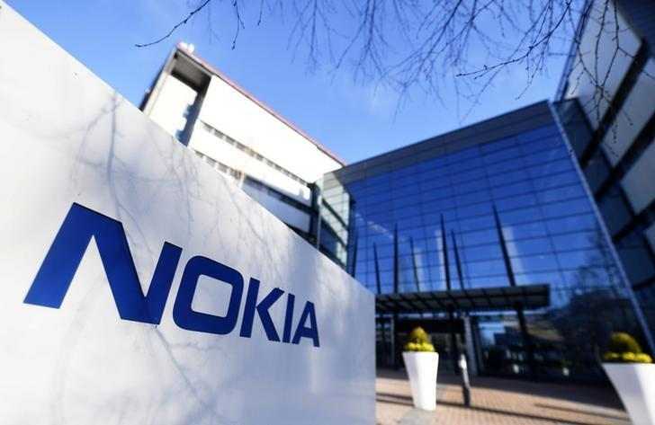 The headquarters of Finnish telecommunication network company Nokia is pictured in Espoo, Finland April 27, 2017. Lehtikuva/Vesa Moilanen/via REUTERS/Files