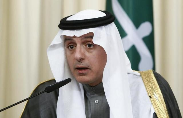 Saudi Foreign Minister Adel al-Jubeir attends a news conference after a meeting with his Russian counterpart Sergei Lavrov in Moscow, Russia, April 26, 2017. REUTERS/Sergei Karpukhin