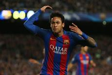 Barcelona's Neymar reacts Reuters / Albert Gea Livepic