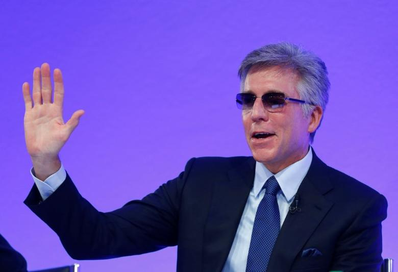FILE PHOTO: SAP SE CEO Bill McDermott attends the company's annual results press conference in Walldorf, Germany, January 24, 2017.     REUTERS/Ralph Orlowski