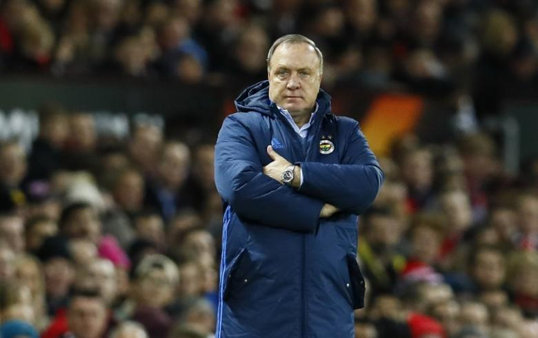 Britain Football Soccer - Manchester United v Fenerbahce SK - UEFA Europa League Group Stage - Group A - Old Trafford, Manchester, England - 16/17 - 20/10/16Fenerbahce coach Dick Advocaat Action Images via Reuters / Jason CairnduffEDITORIAL USE ONLY.
