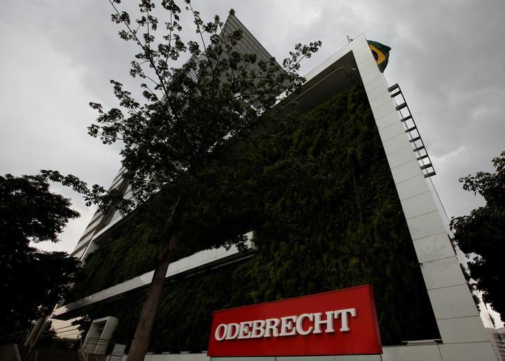 FILE PHOTO: The headquarters of Odebrecht SA are pictured in Sao Paulo, Brazil, December 21, 2016. REUTERS/Paulo Whitaker/Files