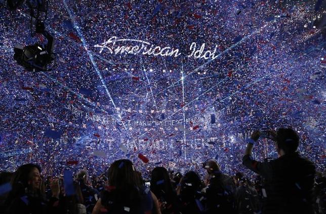 5月9日、2002年から2016年まで15シーズンにわたり米FOXテレビで放送されたオーディション番組「アメリカン・アイドル」が、2018年にABCで再開する。ABCが発表した。写真は昨年4月撮影(2017年 ロイター/Mario Anzuoni)
