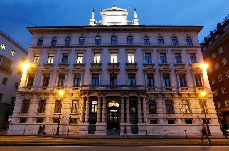 Headquarters of the Italian insurance company Generali are seen in Trieste, Italy, April 26, 2017. Picture taken April 26, 2017. REUTERS/Remo Casilli