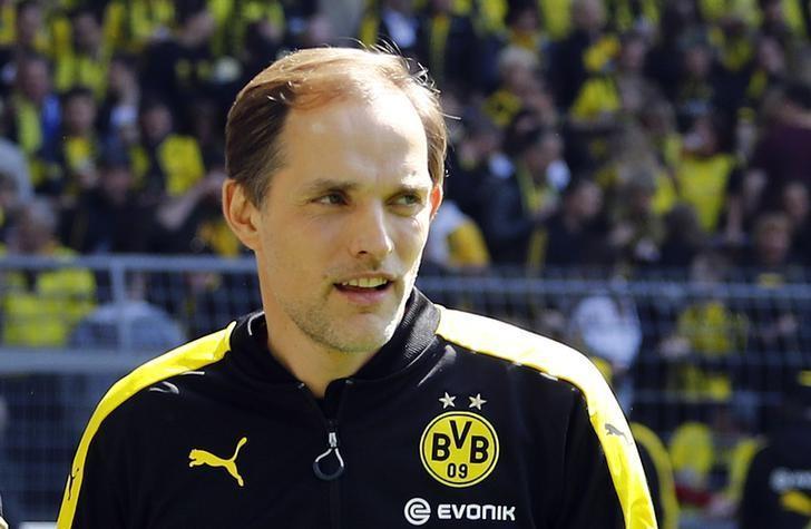 Soccer Football - Borussia Dortmund v Hoffenheim - Bundesliga - Signal Iduna Park, Dortmund, Germany - 6/5/17 Borussia Dortmund coach Thomas Tuchel before the match  Reuters / Leon Kuegeler Livepic