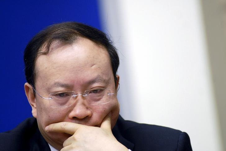 Wang Baoan attends a news conference in Beijing, China in this January 13, 2010.  REUTERS/Stringer/Files