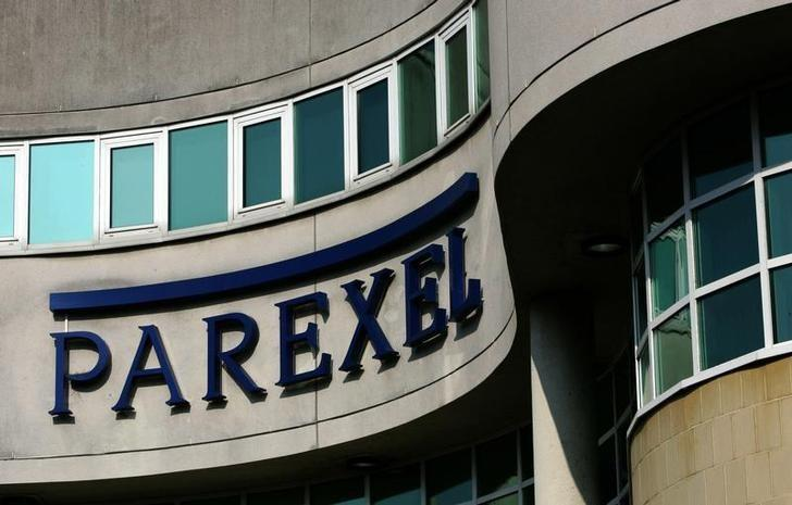 FILE PHOTO - A view of the U.S. drug research company, Parexel International Corp office in Uxbridge, north London, March 15, 2006.