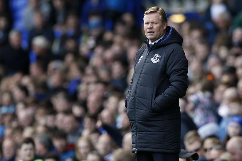 Britain Soccer Football - Everton v Burnley - Premier League - Goodison Park - 15/4/17 Everton manager Ronald Koeman  Reuters / Andrew Yates Livepic