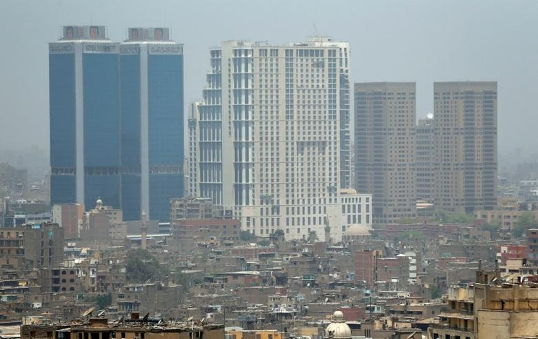 A general view of office and residential buildings at the downtown of Cairo, Egypt May 10, 2017. REUTERS/Amr Abdallah Dalsh