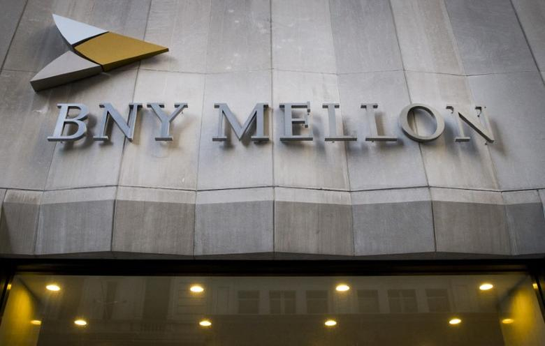FILE PHOTO: The Bank of New York Mellon Corp. building at 1 Wall St. is seen in New York's financial district March 11, 2015. REUTERS/Brendan McDermid
