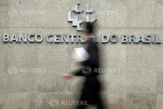 ALogo do Banco Central na sede de Brasília 15 de janeiro de 2014 REUTERS/Ueslei Marcelino