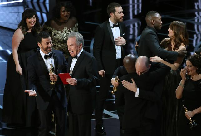 Jimmy Kimmel hosted in 2017. Best Picture winner: Moonlight. REUTERS/Lucy Nicholson