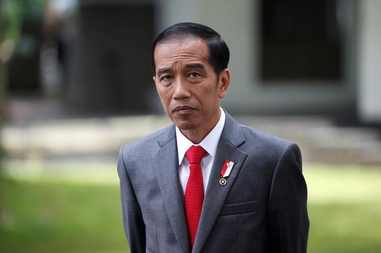 Indonesia President Joko Widodo  in Jakarta, Indonesia March 29, 2017. REUTERS/Beawiharta