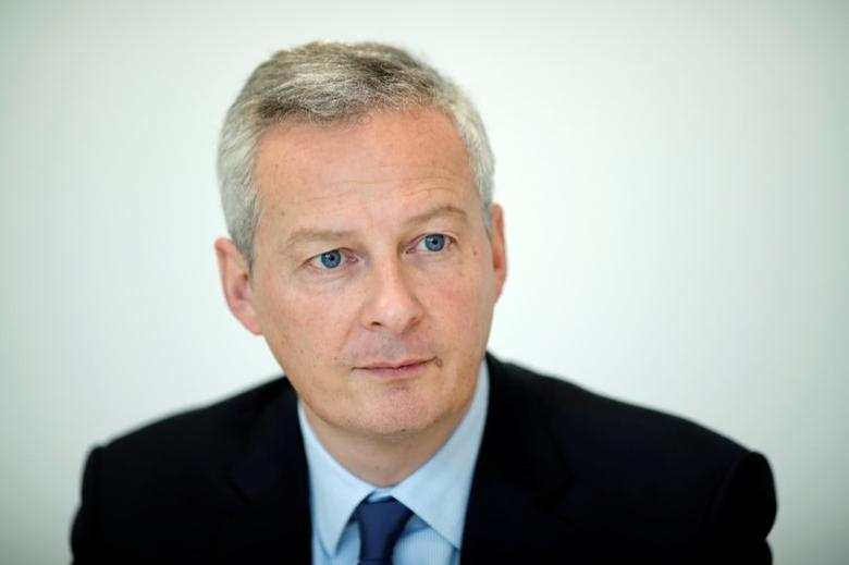 Bruno Le Maire attends an interview with Reuters in Paris, France, February 16, 2017. Picture taken February 16, 2017.  REUTERS/Benoit Tessier/Files