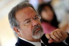 Ministro Raul Jungmann, durante entrevista em Brasília  17/5/2017 REUTERS/Ueslei Marcelino