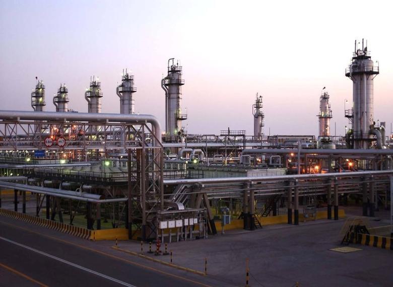 A view shows Saudi Aramco's Abqaiq oil facility in eastern Saudi Arabia in this undated handout photo. Saudi Aramco/Handout via REUTERS