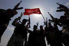 مقاتلون من قوات الحشد الشعبي في العراق - صورة من أرشيف رويترز.