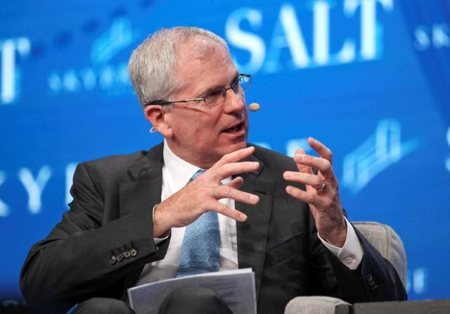 Ray Nolte, chief investment officer of Skybridge Capital LLC, speaks during the SALT conference in Las Vegas, Nevada, U.S. May 17, 2017.  REUTERS/Richard Brian