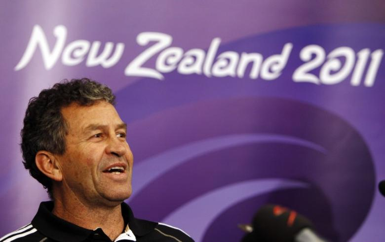 File Photo - New Zealand All Blacks assistant coach Wayne Smith attends a news conference in Auckland October 4, 2011. REUTERS/Bogdan Cristel