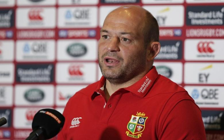 Britain Rugby Union - British & Irish Lions Press Conference - WRU National Centre of Excellence, Vale of Glamorgan - 18/5/17 British & Irish Lions Rory Best during the press conference Action Images via Reuters / Henry Browne Livepic