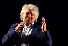 Il leader del M5s Beppe Grillo. REUTERS/Remo Casilli