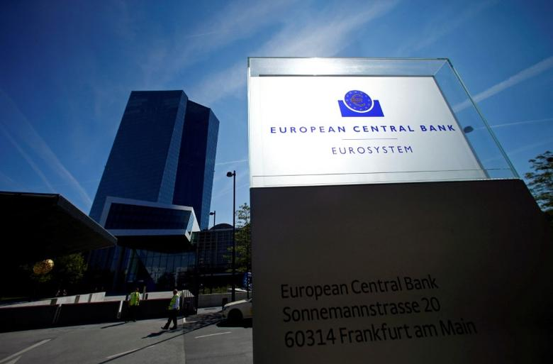 The headquarters of the European Central Bank (ECB) are pictured in Frankfurt, Germany September 8, 2016. REUTERS/Ralph Orlowski/File Photo