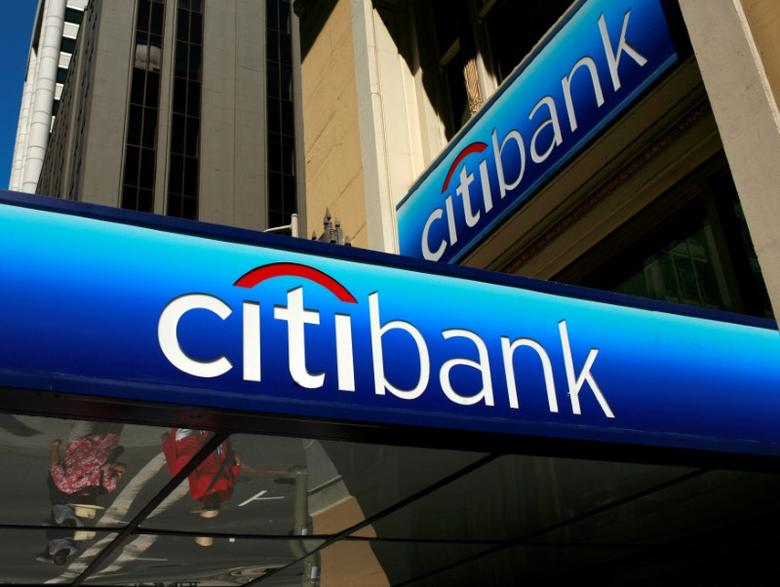 Image result for FILE PHOTO - FILE PHOTO -- People walk beneath a Citibank branch logo in the financial district of San Francisco, California July 17, 2009. REUTERS/Robert Galbraith/File Photo